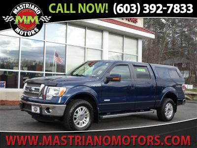 2012 Ford F-150 FX4 (Blue)