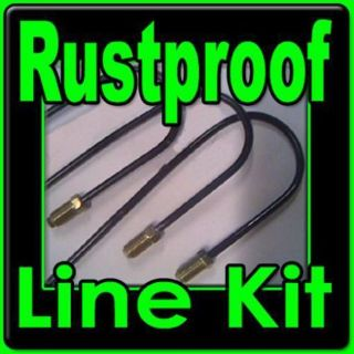 Find Chevy and GMC truck brake line kit for 1967 to 1997 Coated Rustproof Lines motorcycle in Duluth, Minnesota, United States, for US $79.92