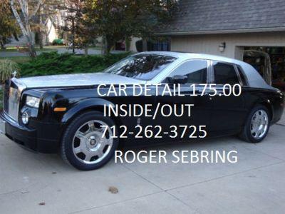 DETAILING BY SEBRING call auto detailing CARS$175.00 TRUCKS$225.00