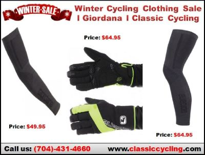 Winter 2018 Cycling Clothing Sale | Giordana Heavy Weight Cycling Arm & Leg Warmers