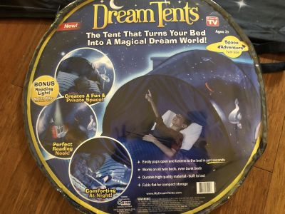 Space Adventure Dream Tent for Twin Size Bed