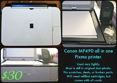 Canon Pixma all in one Printer