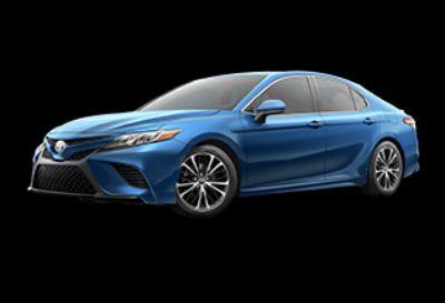 2018 Toyota Camry SE (Blue Streak Metallic)
