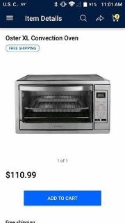 Oster XL Convectional Oven