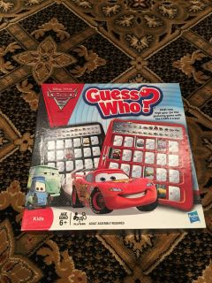 Guess Who - Disney Cars version - Board Game