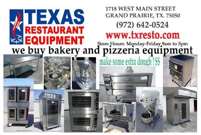 $5,000, call us if you have unwanted RESTAURANT EQUIPMENT