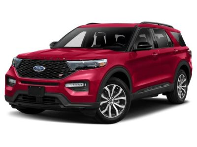2020 Ford Explorer (Agate Black)