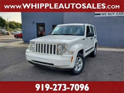 2010 Jeep Liberty Sport (White)