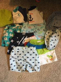 Baby boy bathing suit 6-12 month