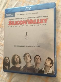 Silicone Valley Season 2 Blu-ray