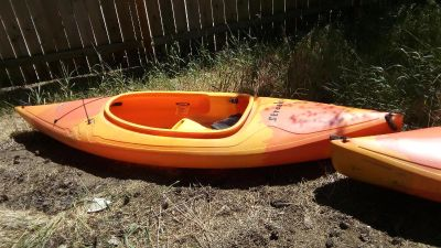 Almost new kayaks