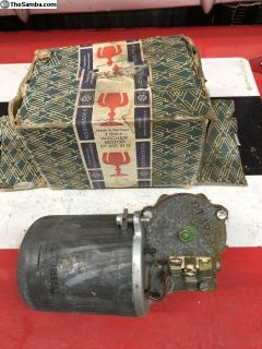 NOS SWF 1966 only Bus wiper motor 6 volt 2 speed