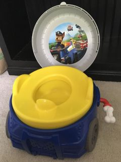 Paw Patrol 2-in-1 potty and step stool