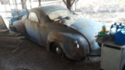 Barn find 50 Dodge 3 Window Coupe