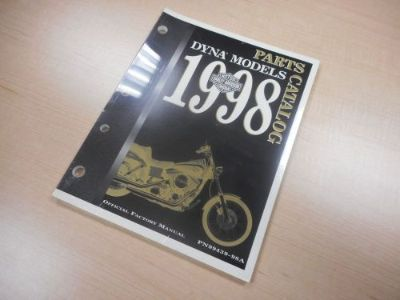 Purchase 1999 HARLEY DAVIDSON DYNA PARTS CATALOG 99439-99A motorcycle in Newnan, Georgia, United States, for US $29.00