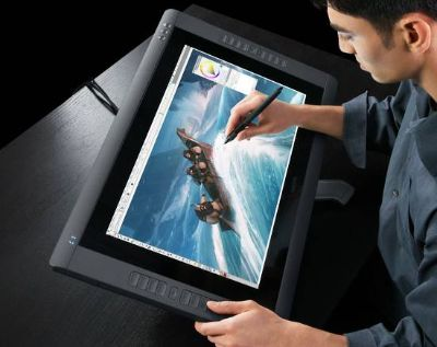 Wacom Cintiq 22HD touch used once (alll instal discs, cables, accesori (gonzaless)
