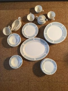 1951 dinnerware (made by the same company that sells Fiestaware)