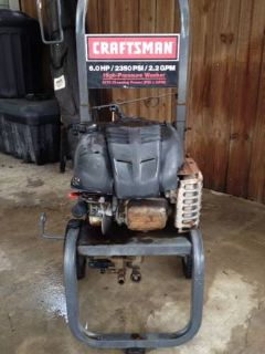6.0 Hp Craftsman Pressure washer
