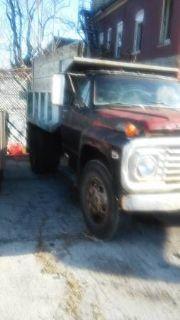 1972 Ford Dump Truck