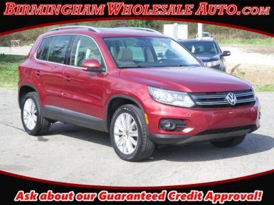 2016 Volkswagen Tiguan SE (Wild Cherry Metallic)