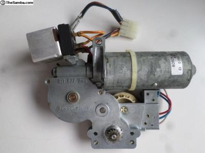 electric sunroof motor part # 811 877 795