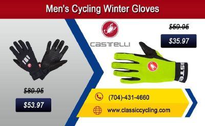 Winter Sale 2018 | Castelli Men's Cycling Gloves – 28144, NC