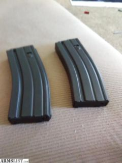 For Sale: 2-30rd PSA metal AR mags