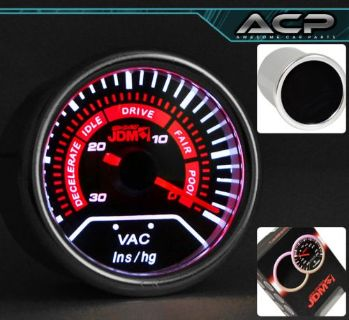 Sell 52MM VACUUM GAUGE METER AUTO POINTER ATS CTS XTS 200 300 EAGLE TALON ESCALADE motorcycle in La Puente, California, United States, for US $21.98