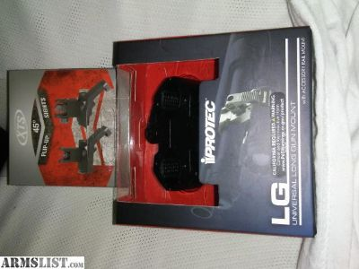 For Sale/Trade: Mag pull XTS 45 flip up sights and Protec Accesory rail mount NIB