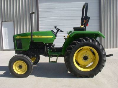 John Deere 5103 Tractor, 50 HP, 2 WD, 288 Hrs, New Condition