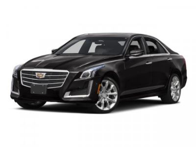 2015 Cadillac CTS 2.0T Luxury Collection (Crystal White Tricoat)