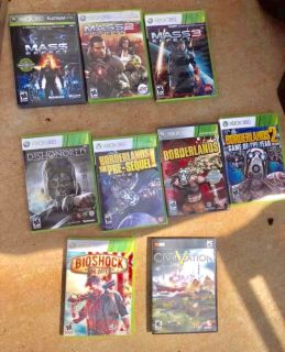 $15 for GTA5 and $10 each on XBOX 360 Games Used in great shape