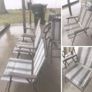 Outside chairs