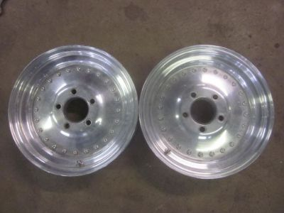 Purchase Chevy Centerline Wheels 15x3.5 Rims Front Runners Race Vintage j10478 motorcycle in Keller, Texas, United States, for US $285.00