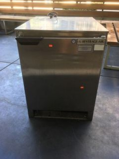 "Beverage-Air 24"" 1-Door Glass Chiller/Froster RTR# 8081351-01,02"