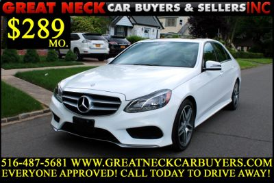 2014 Mercedes-Benz E-Class E350 4MATIC Sport (Diamond White Metallic)