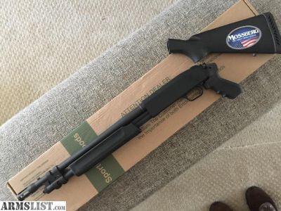 "For Sale: Mossberg 500 20GA Special Purpose Tactical Shotgun BNIB 18.5"""