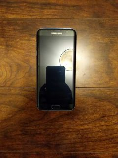 Samsung Galaxy S7 Edge in Perfect Condition with Black Case