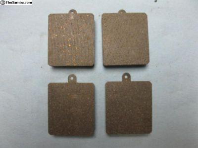 brake pad set for disc brakes