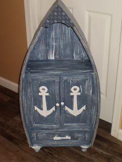 Cute Nautical Boat Shelf