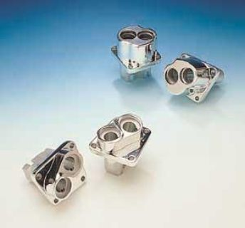 Sell CHROME PLATED LIFTER TAPPET BLOCKS by JIM'S MACHINE~ Harley EVO ENGINE 1984-1999 motorcycle in Harleysville, Pennsylvania, US, for US $398.27