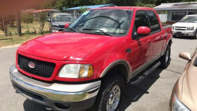 2001 Ford F-150 King Ranch (RED)