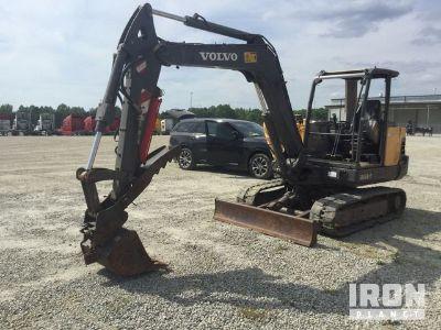 2012 Volvo EC55C Mini Excavator