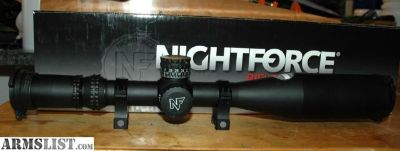 For Sale: Nightforce ATACR 7-35x56 F1 ZeroStop .250 MOA Illum PTL MOAR C569