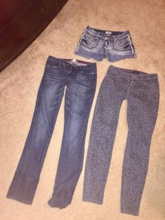 Jeans and shorts sizes 5