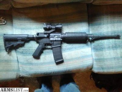 For Sale/Trade: BUSHMASTER AR15 223 NATO