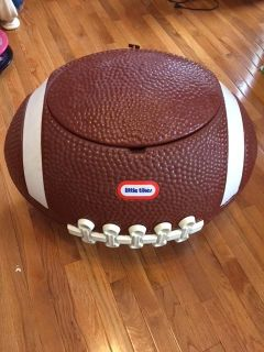 Little Tikes Football Toy Chest/Cooler/Hamper