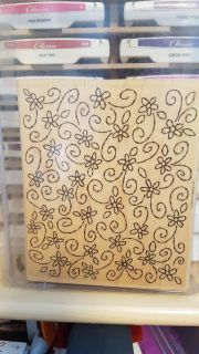 Stampin Up background stamp.