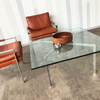 Mid Century Mies van der Rohe coffee table for Kno