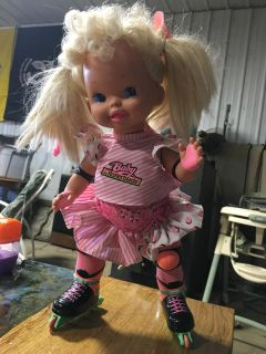 Baby Rollerblade doll